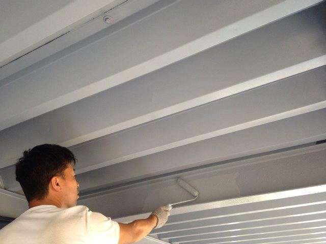 K株式会社様事務所 折半屋根塗装 施工事例