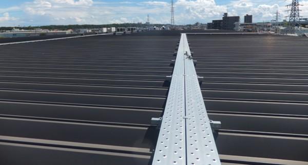 A社湘南工場様 屋根塗装事例