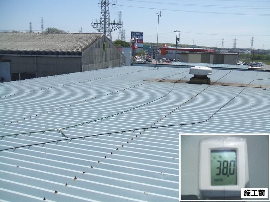 企業様 アドグリーンコートEX-011α 屋根遮熱塗装工事例