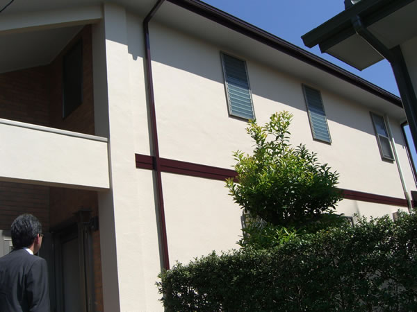 【EX-021α,EX-001α】東京都M様邸 屋根・外壁遮熱塗装
