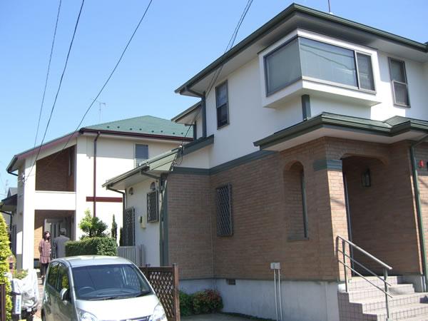 【EX-020α,EX-011α】東京都N様邸 屋根・外壁遮熱塗装