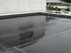 事務所・屋上シート防水塗装