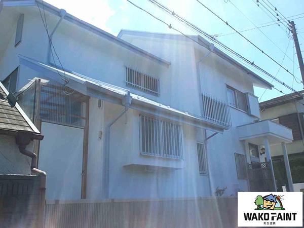 【EX-009α】千葉県X様邸 屋根・外壁遮熱塗装