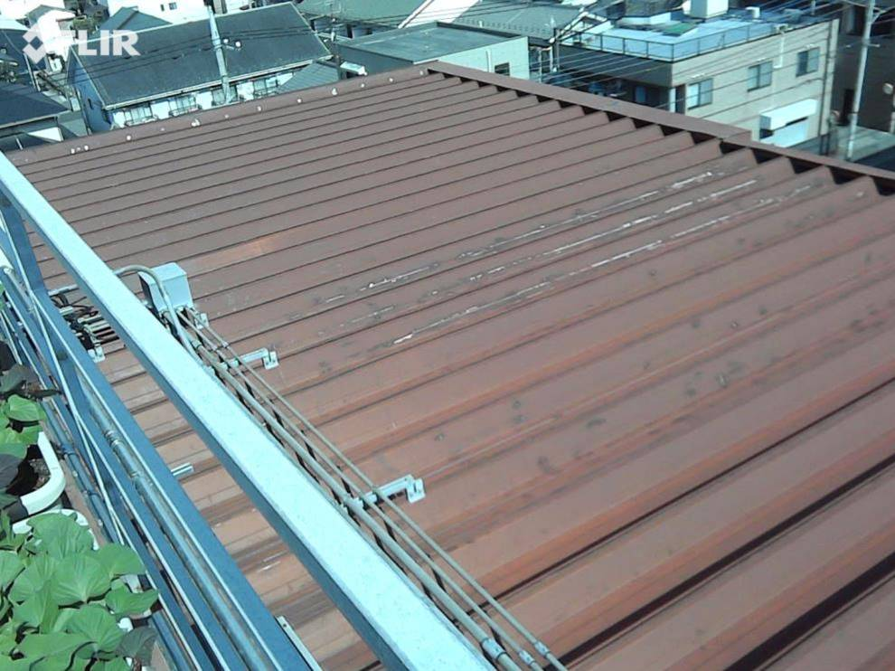 川口市某金属加工工場 屋根塗装工事