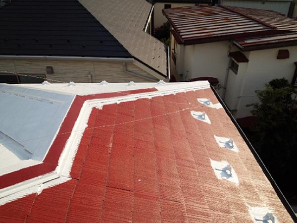 【EX-009α】東京都X様邸 屋根遮熱塗装