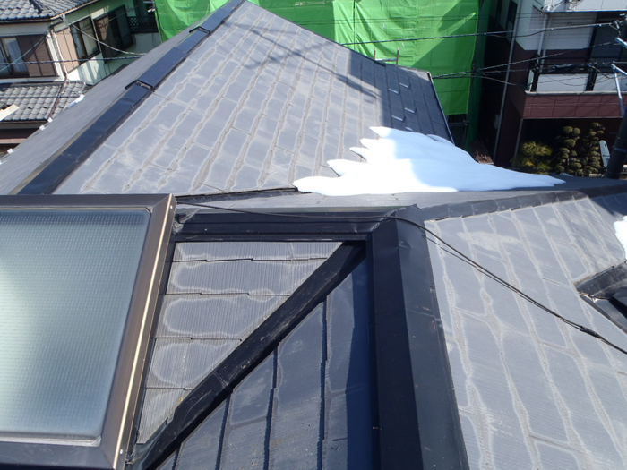 【EX-008α】神奈川県I様邸 屋根遮熱塗装