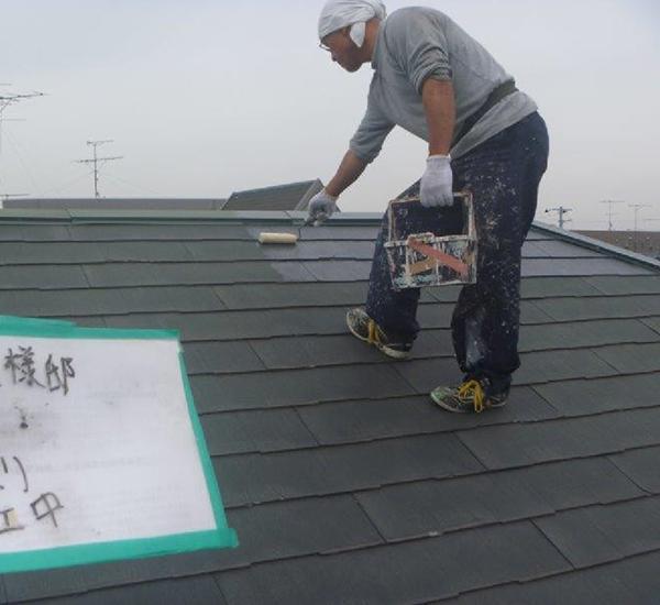 【EX-021α】千葉県S様邸 屋根遮熱塗装