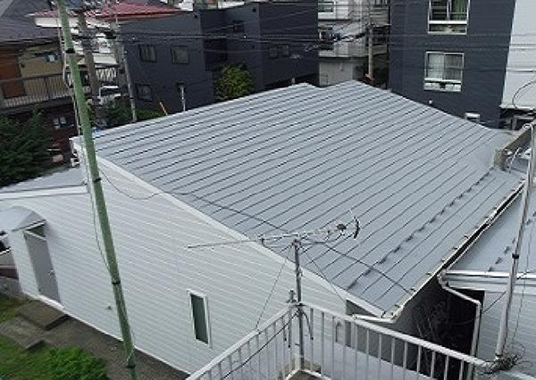 【EX-007α】東京都K様邸 屋根遮熱塗装