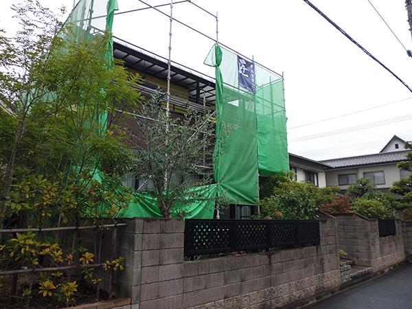 【EX-003α,EX-022α】岡山県H様邸 外壁遮熱塗装