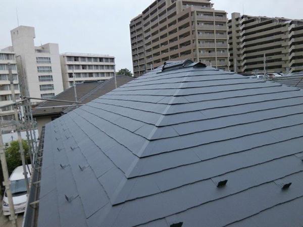 【EX-312α】千葉県O様邸 屋根遮熱塗装