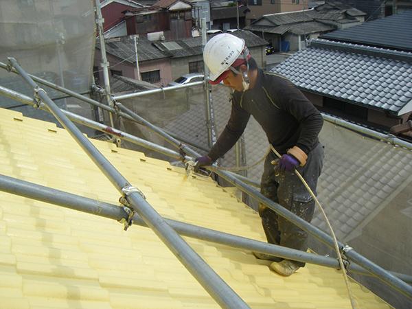 【EX-003α】兵庫県H様邸 屋根遮熱塗装