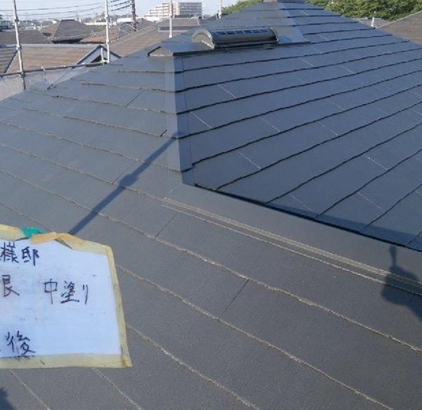 【EX-312α】千葉県W様邸 屋根遮熱塗装