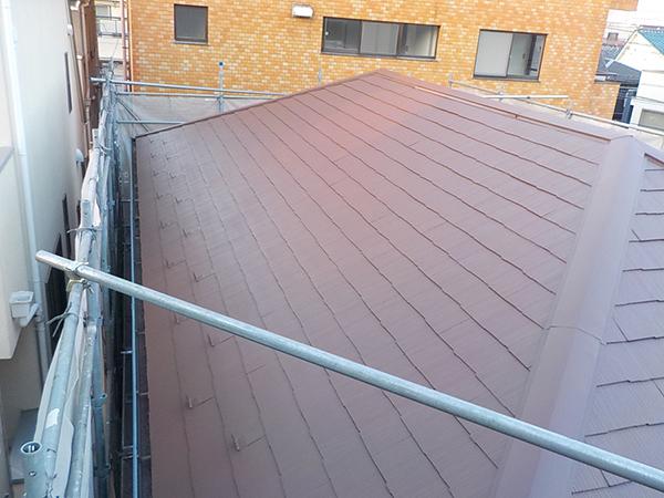 【EX-022α】東京都G様邸 屋根遮熱塗装
