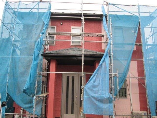 【EX-020α,GL調色】東京都K様邸 屋根・外壁遮熱塗装