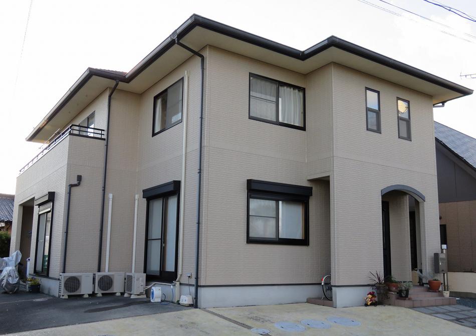静岡県掛川市H様邸 屋根・外壁塗装工事