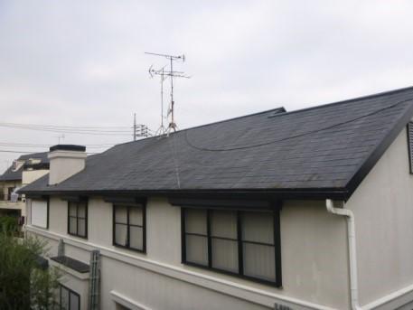 【EX-007α,EX-001α】東京都戸建 屋根・外壁遮熱塗装