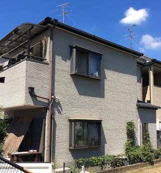 【EX-011α,EX-312α】大阪府T様邸 屋根・外壁遮熱塗装