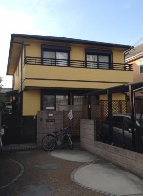 【EX-312α,EX-003α】大阪府M様邸 屋根・外壁遮熱塗装