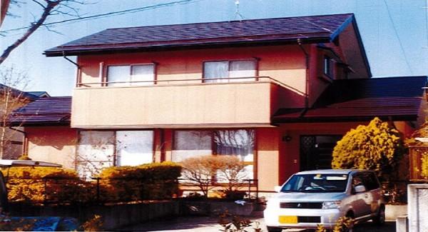 【EX-022α】福島県S様邸 屋根・外壁遮熱塗装