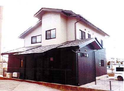 【EX-022α,GL040】福島県T様邸 屋根・外壁遮熱塗装