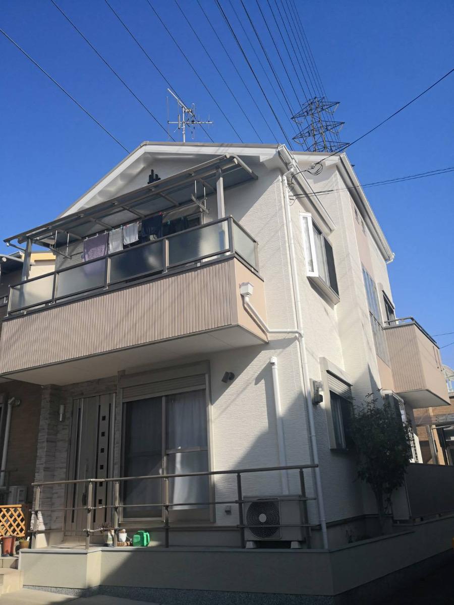 【GL034,GL030】大阪府N様邸 屋根・外壁遮熱塗装